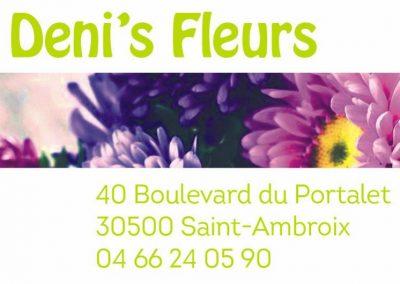 denis fleurs
