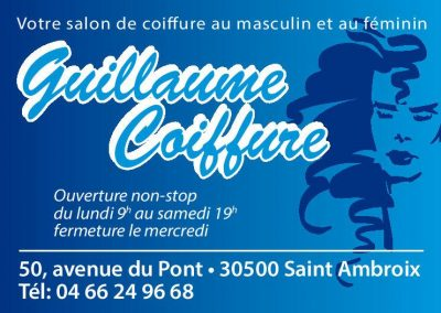 guillaume coiffure