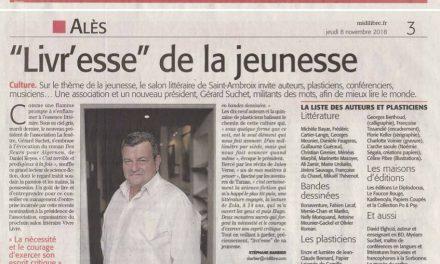 Livr'esse de la jeunesse au salon de Saint-Ambroix