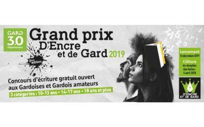 Grand prix d'écriture « D'Encre et de Gard »