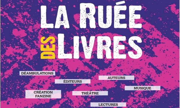 INVITATION A LA RUÉE DES LIVRES DU 29 MAI À SAINT-AMBROIX